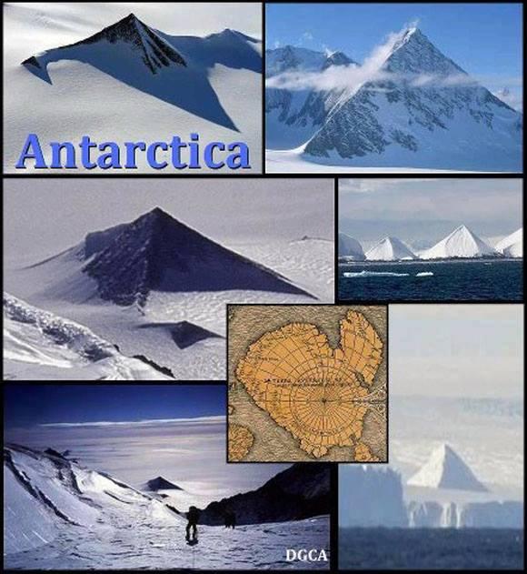 Piramisokat találtak az Antarktiszon ? krónika