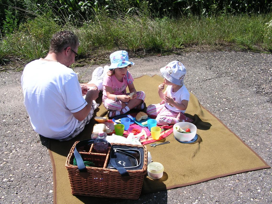 Piknik az út szélén