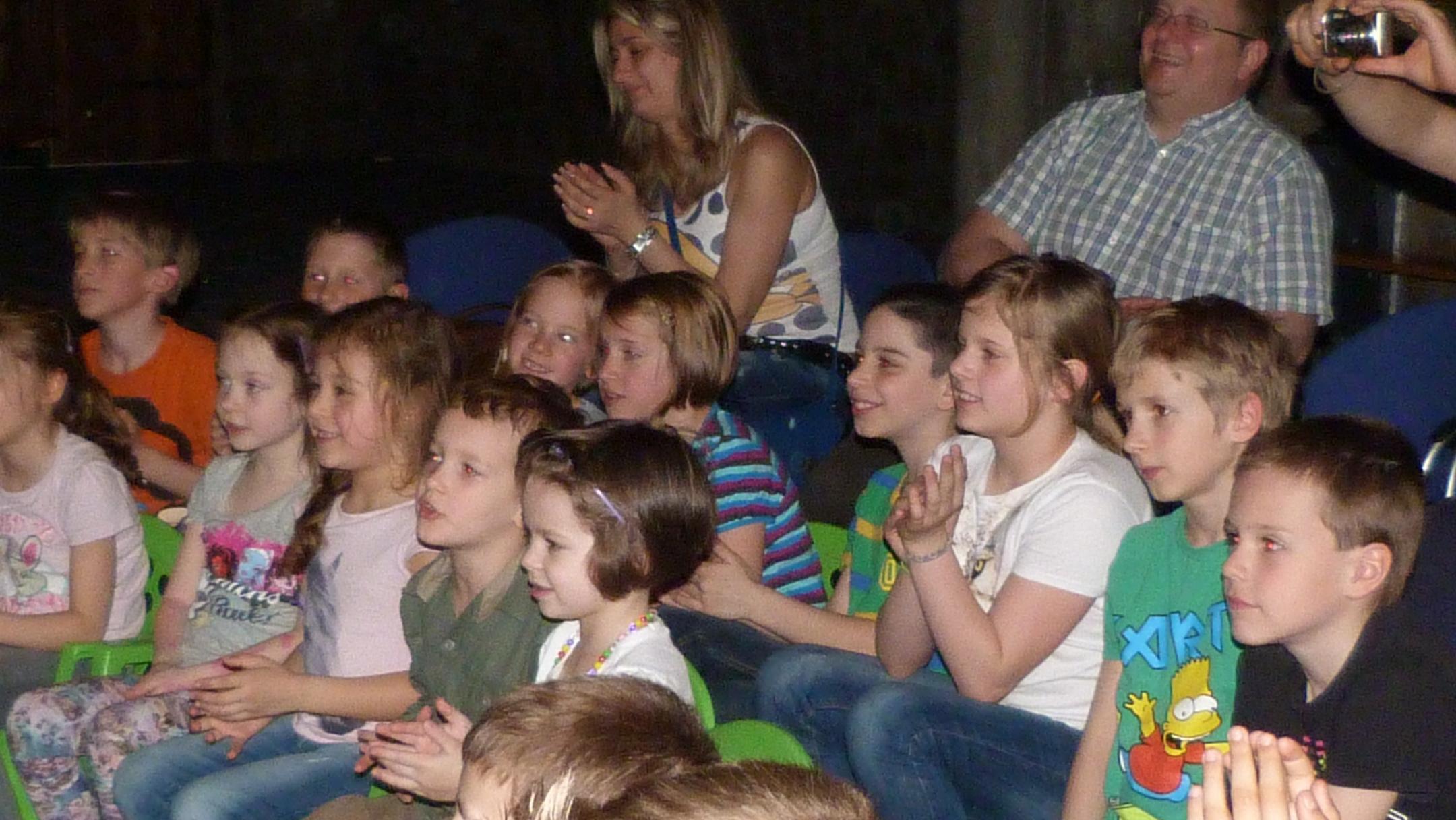 A lelkes közönség