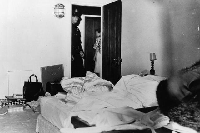 A szoba ahol holtan találták Monroe-t