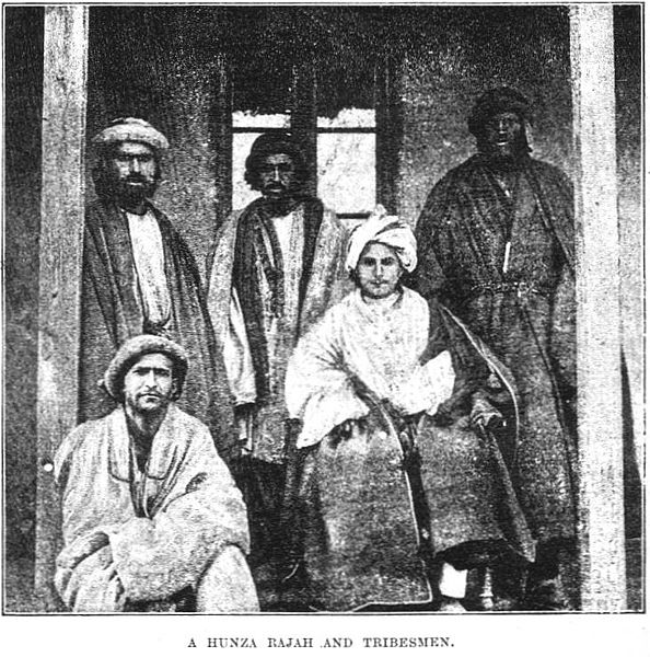 594px-A_Hunza_Rajah_and_Tribesmen.jpg