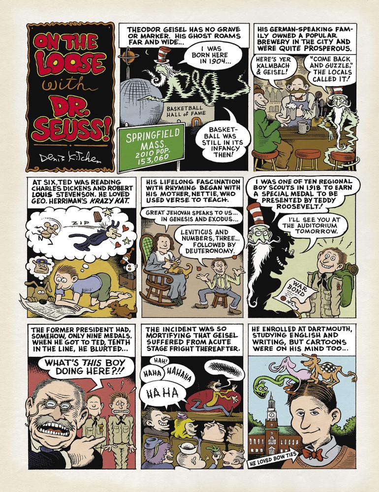 Képregényben utasítják vissza a kiadók Dr. Seuss-t