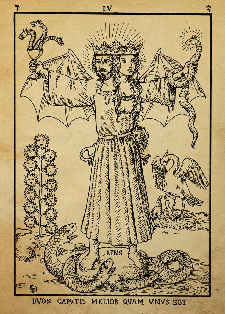 alchemy_woodcut_duos_caputis_melior_quam_unus_est_by_dashinvaine-d62i1y6.jpg