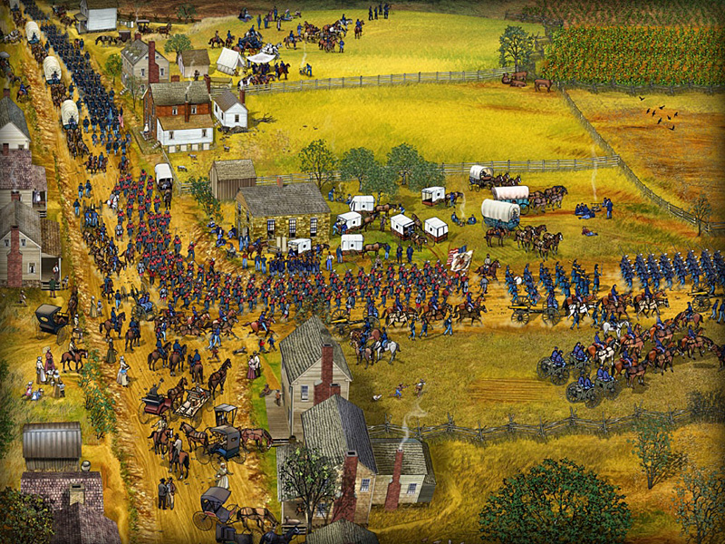 Centreville and The Union Army advance to Bull Run.jpg