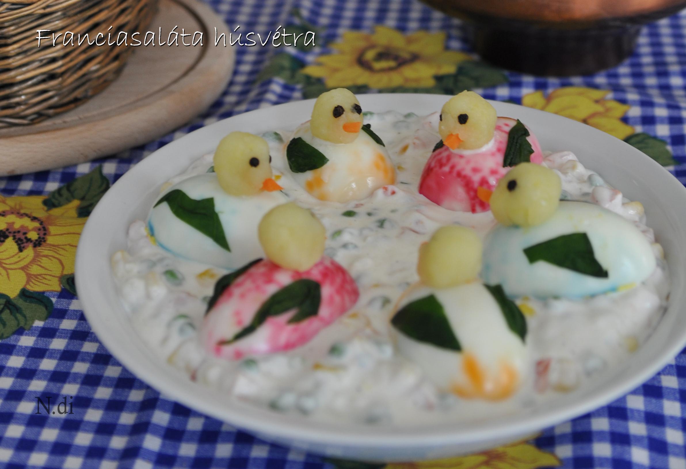 Franciasaláta húsvétra