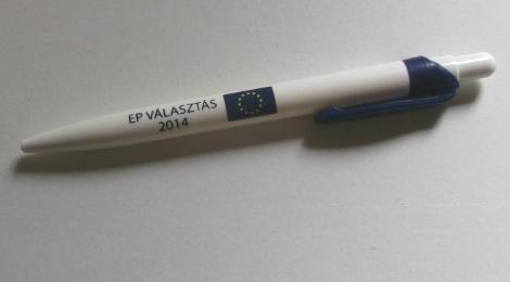 Itt a következő - választási relikvia 2014 - Európai Parlamenti választás 2014 hivatalos tolla