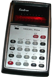 santron calculator 604 retro kedvenc