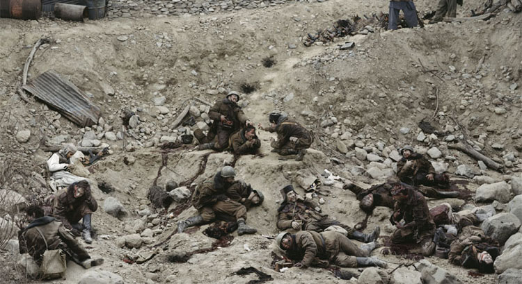 03_Dead Troops Talk (A vision after an ambush of a Red Army patrol, near Moqor, Afghanistan, winter 1986) 1992.jpg