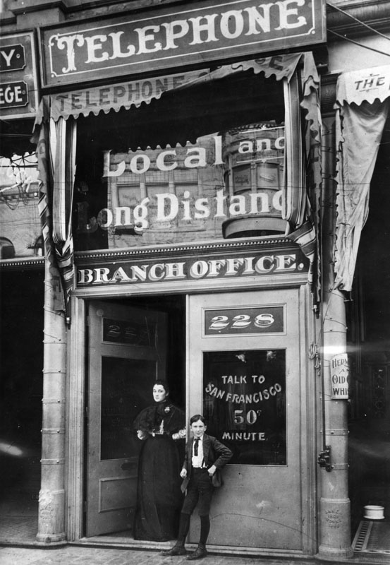 The first telephone pay station in Los Angeles, 1899.jpg