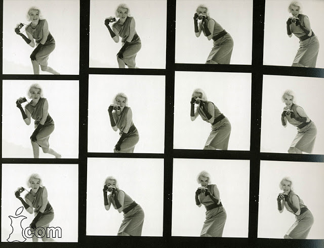 Contact Sheets of Marilyn Monroe with a Nikon F (6).jpg