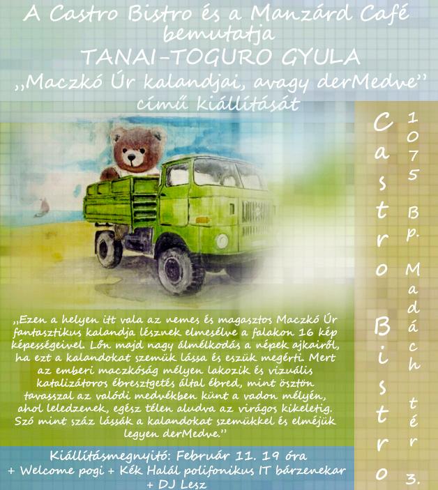 magyART kiállítássorozat – Tanai-Toguro Gyula