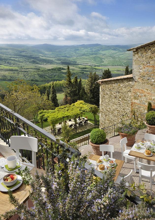 Rusztikus, elegáns, ráncsimító -  Hotel Monteverdi, Val d'Orcia