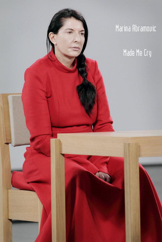 Marina Abramović - Made Me Cry