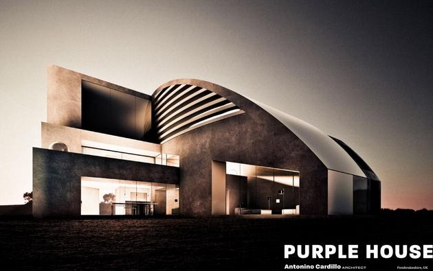 Purple House @ Antonino Cardillo