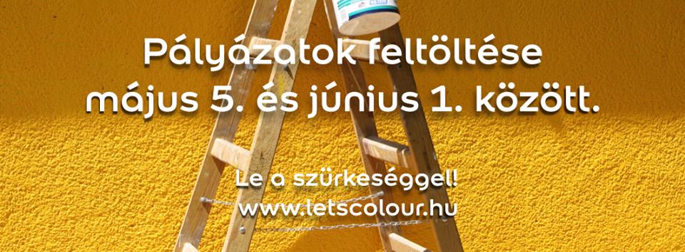 Elindult a 2014-es Let's Colour pályázat!