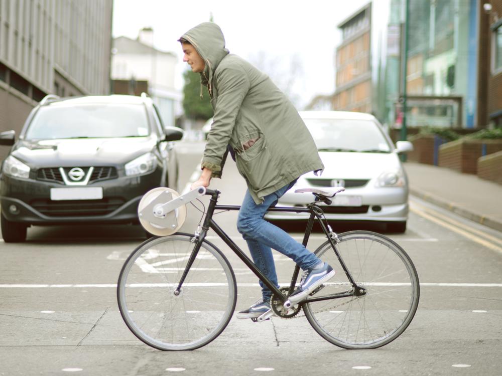 Készíts lámpaburát bringázás közben!