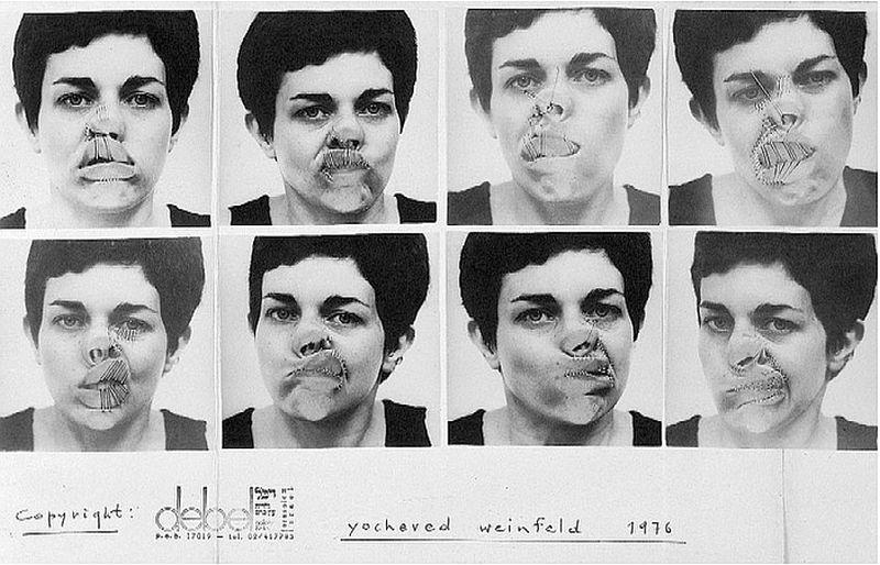LET ME TAKE A SELFIE! Aztán lőtt magáról egy sorozatnyit, 1976-ban...- Yocheved Weinfeld's Portraits of the Self