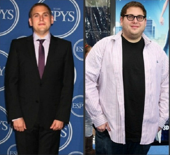 jonah hill weight comparison