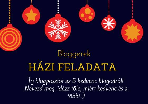 Random: Magyar Bloggerek házi