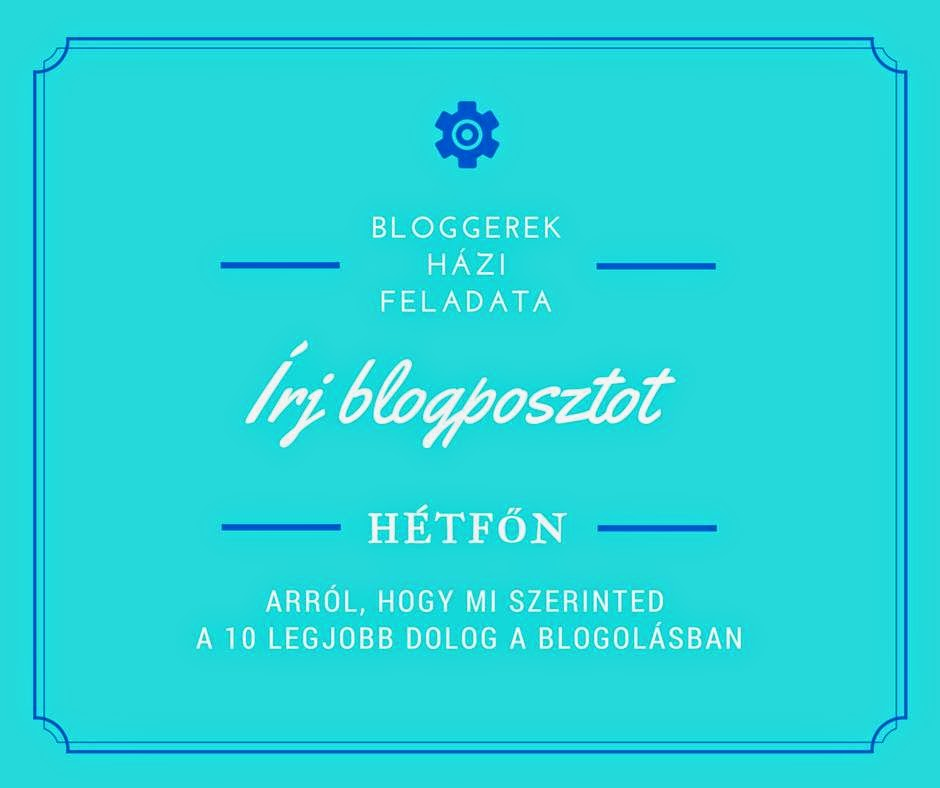 Random: Magyar Bloggerek házi 2