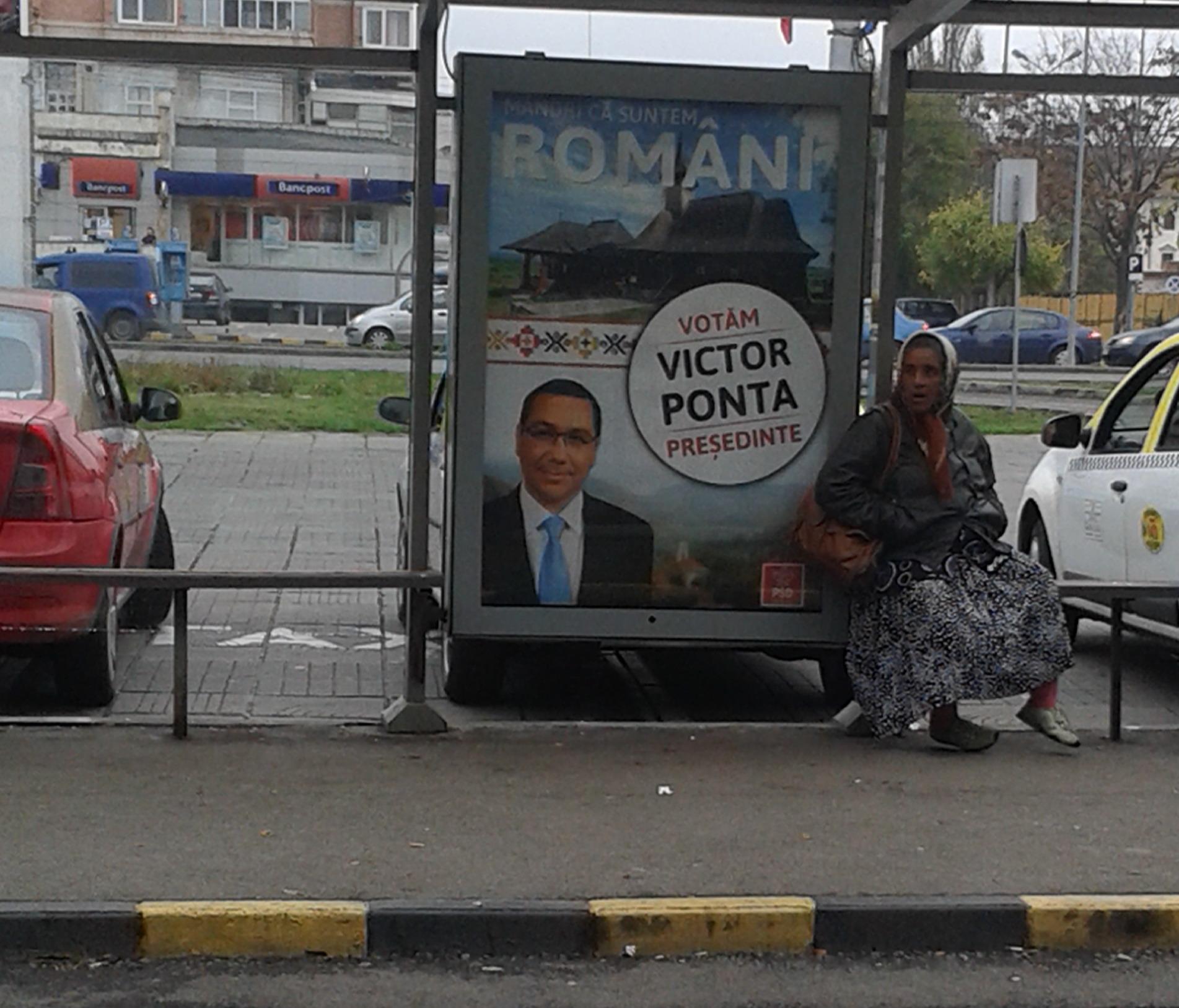 Rusztikus plakát, rusztikus választópolgár, rusztikus ország.