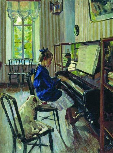 Sergei_Vinogradov_-_Igraet_._1914.jpg