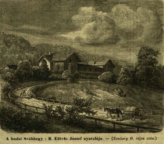 Eötvös József nyaralója a Svábhegyen VU 1864.jpg