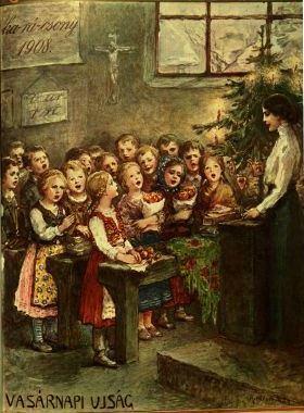 Karácsonyi idill, 1908.jpg