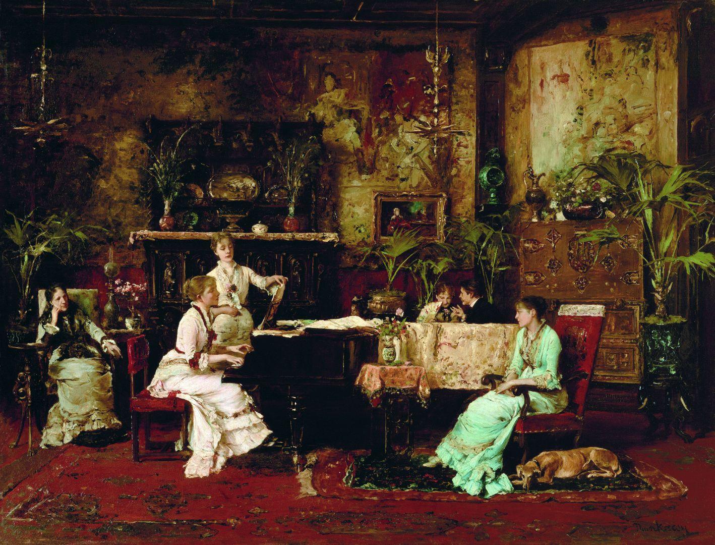 """""""A klavir mellett ülnek s ábrándoznak"""" – Polgár és zongorája a 19. században"""