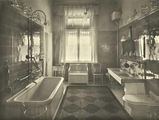 Badezimmer Jugendstil - Design