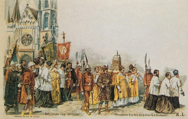 """""""Nemzetünk bötsös Ünnepét ditsőíteni"""" – Szent István napja a 19. században"""