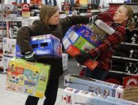 Áruházi harc a karácsonyi ajándékokért