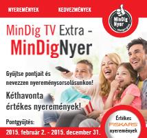 MinDig TV Extra - MinDigNyer - Gyűjtse hűségpontjait és nevezzen a nyereménysorsolásokon!
