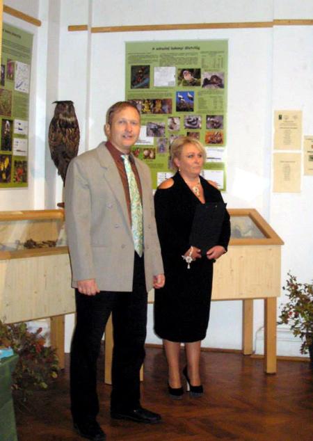 """Megnyílt """"A Bakony biodiverzitása"""" című időszaki kiállítás"""