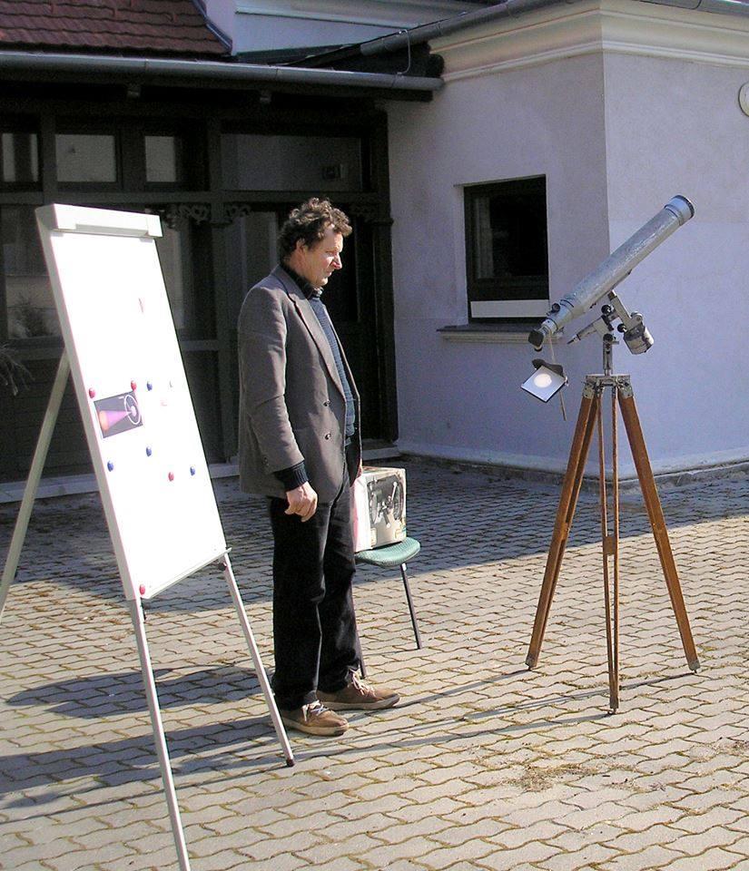 Beszámoló a napfogyatkozásról (Zirc)