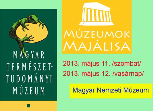 Múzeumok Majálisa 2013 - Mi ott leszünk!