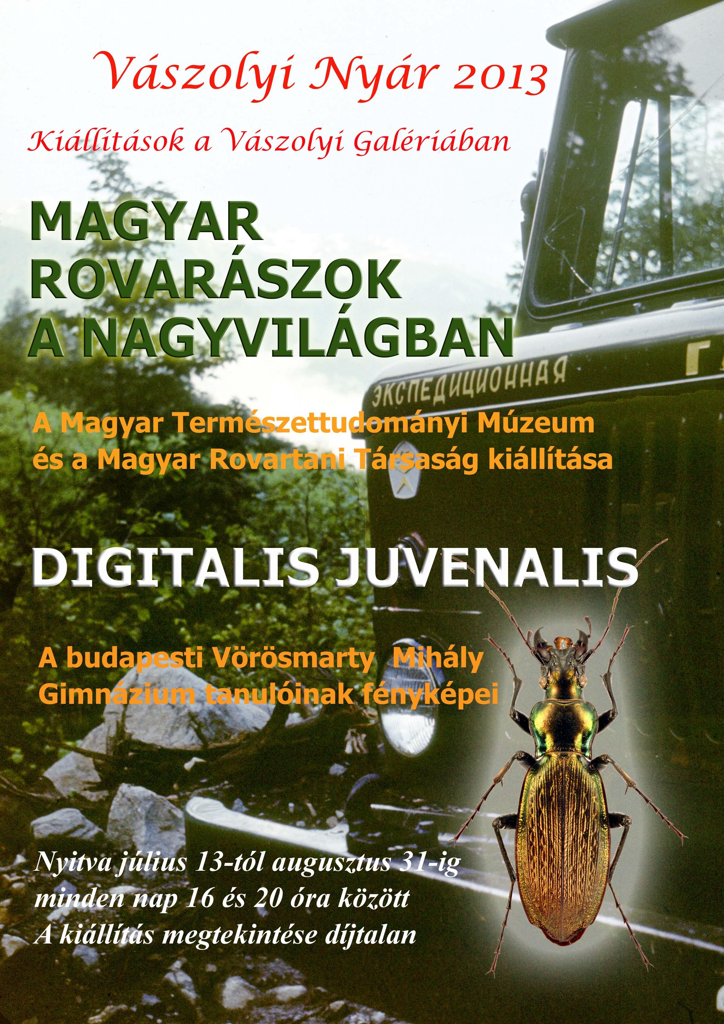 Magyar Rovarászok a nagyvilágban