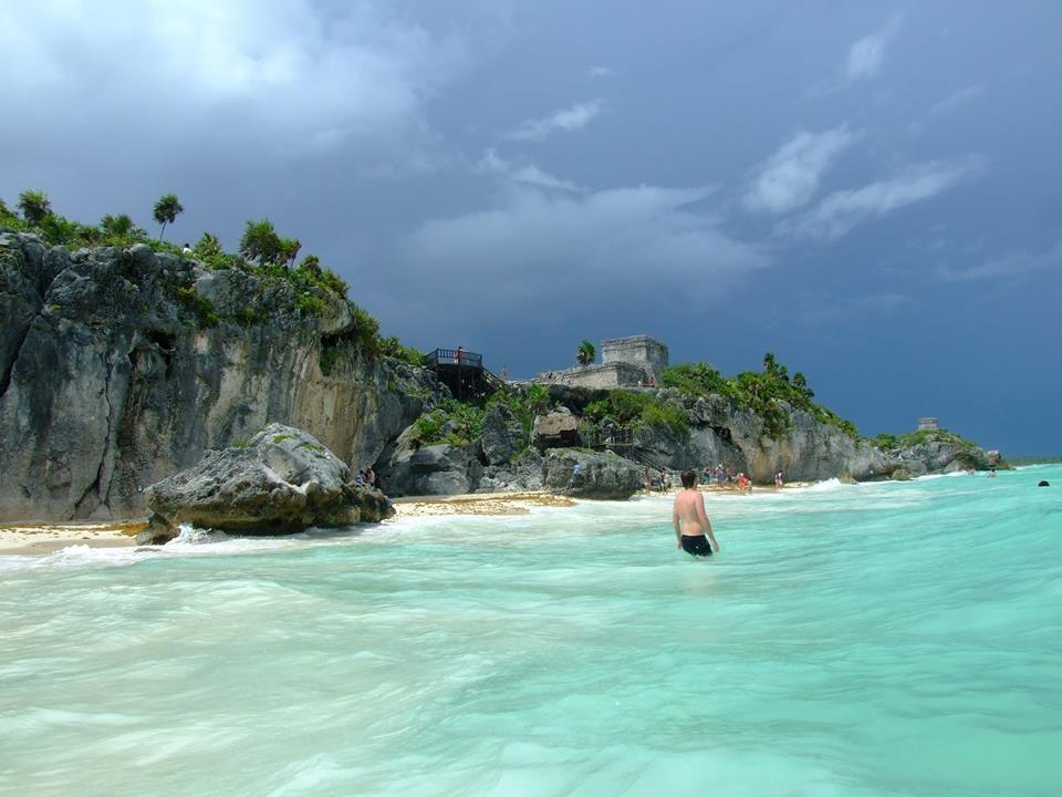A maya romváros, Tulum közelében több híres cenote található. Fotó Angyal D.