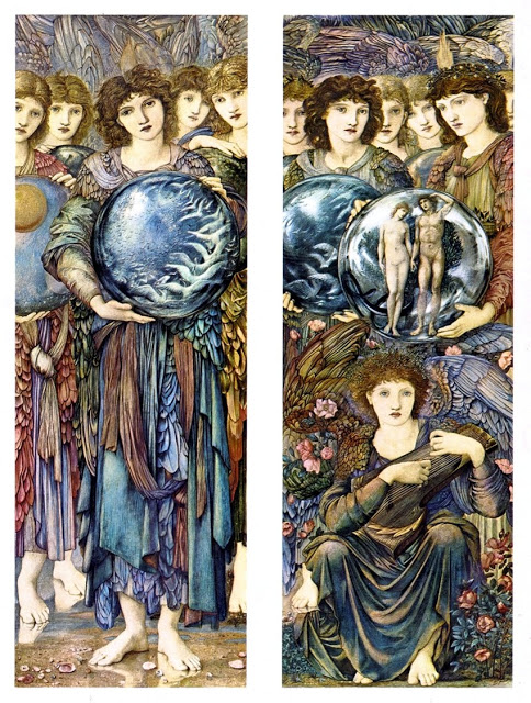Edward Burne-Jones - The Angels of Creation - Days 5 and 6.jpg