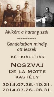 Első világháborús kiállítások Noszvajon