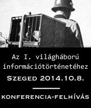 Az első világháború információtörténetéhez