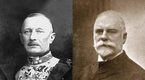 Oskar Potiorek és Leon Bilinski