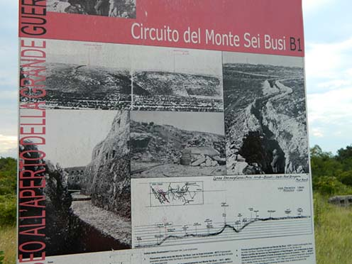 A Monte Sei Busi egykor