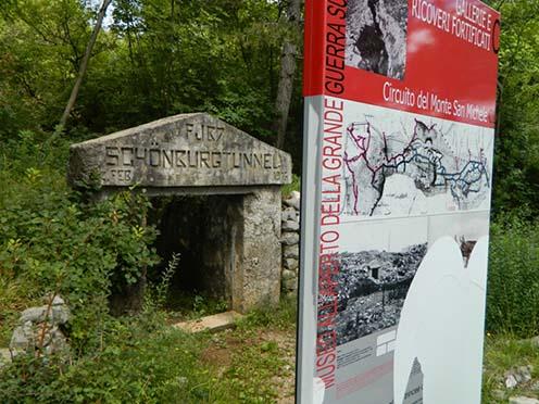 A Schönburgtunnel egykor és ma