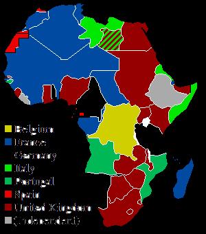 Afrikai gyarmatok 1914-ben