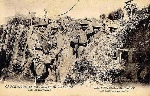 Portugálok a nyugati fronton