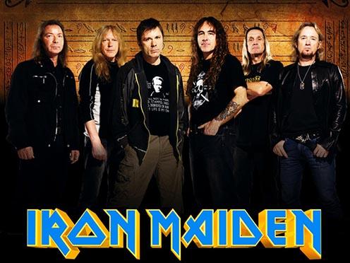 Az Iron Maiden tagjai 2003-ban