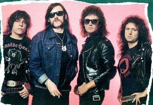 A Motörhead tagjai az 1990-es években