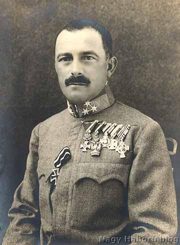 Sipos Gyula ezredes, a székesfehérvári 17. honvéd gyalogezred parancsnoka