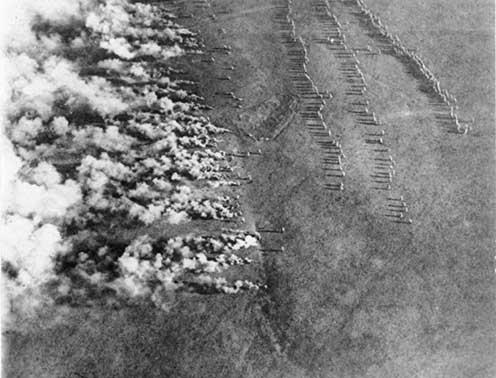 Német gáztámadás az orosz fronton